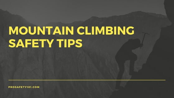 mountain climbing safety tips