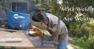 MIG vs ARC welding
