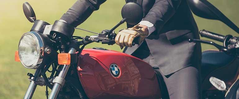 beginner motorcycle rider