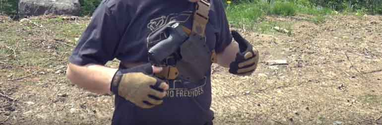 chest holster for hunting