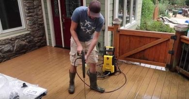 portable electrical pressure washer