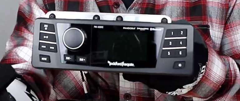 Harley stereo upgrade