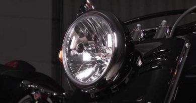 headlight for Harley Davidson